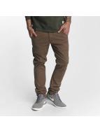 Reell Jeans Spodnie wizytowe Flex Tapered brazowy