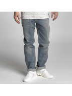 Reell Jeans Straight Fit Jeans Lowfly blå