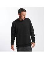 Reell Jeans Sweat & Pull Stitch Crewneck noir