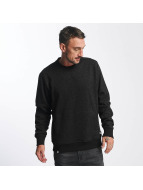 Reell Jeans trui Stitch Crewneck zwart