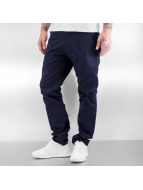 Reell Jeans Tygbyxor Straight Flex blå