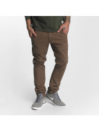 Reell Jeans Tygbyxor Flex Tapered brun