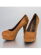 Refresh Туфли на каблуках Leo Pumps коричневый