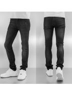 Religion Облегающие джинсы Noize черный