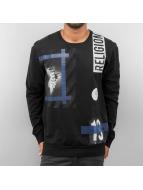 Religion Пуловер Blue Hazardous черный