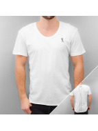 Religion T-Shirt Plain blanc