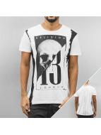 Religion T-Shirt Skull blanc