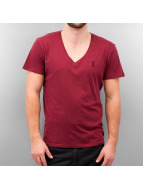Religion t-shirt Plain rood
