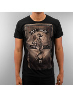 Religion T-Shirt Rebel Club schwarz