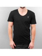 Religion T-Shirt Plain schwarz