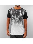 Religion t-shirt Blooming zwart