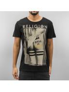 Religion t-shirt Made in Germany zwart