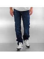 Rocawear Джинсы прямого покроя Relaxed Fit синий
