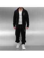 Rocawear Anzug Velour Samt schwarz