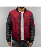 Rocawear Bomber Jacket Winered/Black