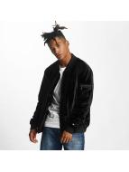 Rocawear Retro Velour Jacket Black