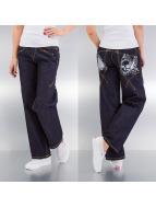 Rocawear Boyfriend Jeans Spade Down blue