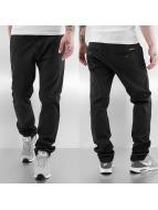 Rocawear Chinot/Kangashousut Slim Fit musta