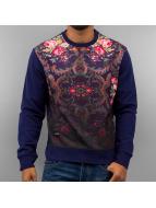 Flower Sweatshirt Navy/F...