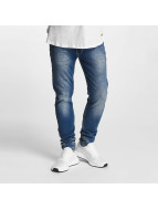 Rocawear Pune Tapered Stretch Fit Jeans Light Mid Wash