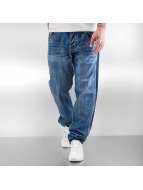 Rocawear Jean Coupe Loose Fit Tapered Loose Fit bleu
