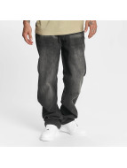 Rocawear Mirror Tapered Loose Fit Jeans Dark Grey Wash