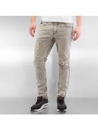 Rocawear Wash Skinny Fit Jeans Grey Wash Destroyed