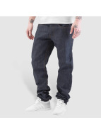 Rocawear Jeans straight fit Leather Patch grigio