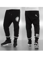 Rocawear Jogginghose Mesh schwarz