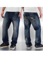 Rocawear Løstsittende bukser Double R indigo