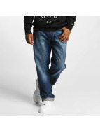 Rocawear Mirror Tapered Loose Fit Jeans New Mid Blue