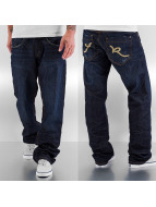 Rocawear Loose fit jeans Double R indigo