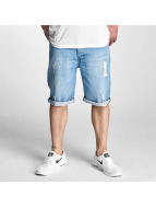 Rocawear Pantalón cortos Relax Fit azul