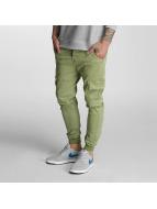 Rocawear Pantalone Cargo Jogger Fit oliva