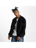 Rocawear Retro Velour Jacket Black