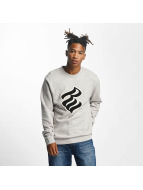 Rocawear Pullover Retro Basic Crew Neck gray
