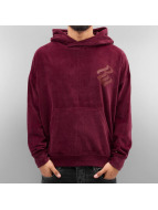 Rocawear Pullover Velour II Samt rouge