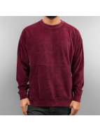 Rocawear Pullover Velour Samt rouge