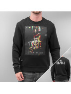 Rocawear Pullover Self Made Crewneck schwarz