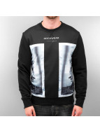Rocawear Pullover Double Marble schwarz