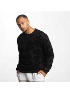 Rocawear Pullover Retro Velour schwarz