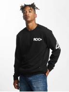 Rocawear Pulóvre Retro Sport Crew Neck èierna