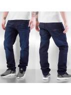 Rocawear Rovné Leather Patch modrá