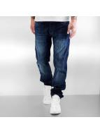Rocawear Rovné Relaxed Fit modrá