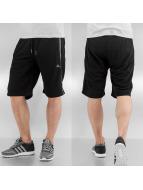 Rocawear Shorts D. Mesh Stripe Fleece noir
