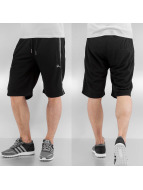 Rocawear Shorts D. Mesh Stripe Fleece schwarz