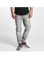 Rocawear Pune Tapered Stretch Fit Jeans Grey Wash