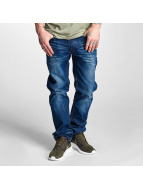 Rocawear Straight Fit Jeans Relaxed modrý