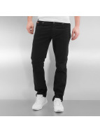 Rocawear Straight fit jeans Quilted zwart