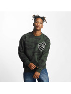 Rocawear Sweat & Pull Retro Army Crew Neck olive
